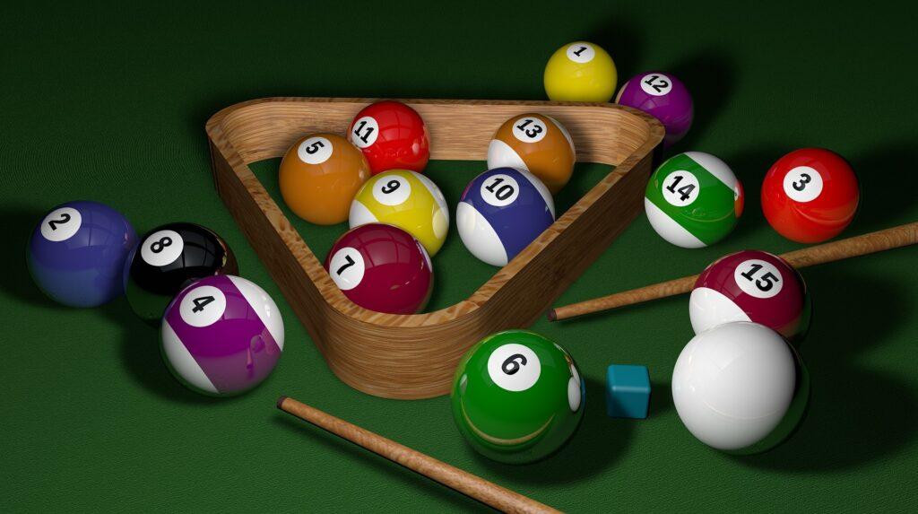 Set of the best billiard balls