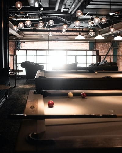 Pool table without a pool table cover